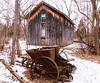 Homestead (brendacyr) Tags: ice pointpelee winter homestead oldfarm antique