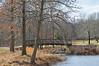 We build too many walls and not enough bridges - Isaac Newton (pontla) Tags: mercer park winter bridge river creek trees
