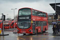 VLW902 - 123 Wood Green (3) (Gellico) Tags: arriva london bus route 123 wood green tottenham hale tower transit vlw vlw902 wright gemini 2 volvo b9tl