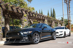 project-6gr-7-spoke-seven-satin-graphite-california-special-07 (PROJECT6GR_WHEELS) Tags: project 6gr 7seven spoke shadow black 50th anniversary satin graphite ford mustang s550 gt 2015