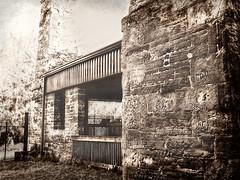 Sugar Mill Ruins (Chris C. Crowley- Busy for a week or two!) Tags: sugarmillruins sugarmillgardens dunlawtonplantation coquina stone netalroof historic ruins decay portorangeflorida
