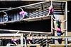 Hold tight (Alexander Dülks) Tags: stairs 2014 iron landschaftsparkduisburgnord kinder children rust industrie industry eisen steel rost lapadu treppe stahl