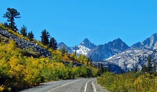 Road to Lake Sabrina, Sierra Nevada Range, CA 10-2017