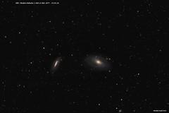 Bode's Nebula (M81), M82 & NGC 3077 - 25.02.18 (Ralph Smyth) Tags: bode m81 m82 ngc3077 760d astrometrydotnet:id=nova2449114 astrometrydotnet:status=solved