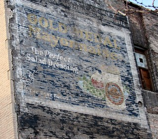 Newly revealed ghost sign at 1543 W. 63rd Street