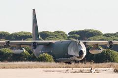 16802 Lockheed C130H Hercules (Gary J Morris) Tags: lpmt montijo portugal 16802 lockheed c130h hercules portuguese air force base 04122017 ba6