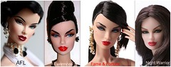 Fame & Fortune - and other Brunettes! (JennFL2) Tags: fame fortune vanessa perrin gift set integrity toys w club exclusive 2017 final doll