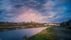 Walking - 4390 (YᗩSᗰIᘉᗴ HᗴᘉS +12 000 000 thx❀) Tags: hss walking namur water river sambre hensyasmine yasminehens cloud sky belgium belgique bel be bélgica europa europe eu aaa