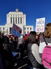 Dump Trump and DACA (quinn.anya) Tags: trump dumptrump daca sign womensmarch womensmarchoakland womensmarch2018