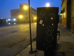 NYKE & FACT (Billy Danze.) Tags: chicago graffiti nyke cmw fact xmen d30 jmc