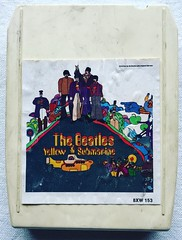The Beatles (1968) Yellow Submarine (Christian Montone) Tags: 8tracks tapes tape cassette cartridge 8tracktape 1960s 60s beatles
