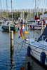 Monnickendam, The Netherlands (Gerry van Gent) Tags: monnickendam netherlands town ijsselmeer holland water port boats yachts freetime waterland monksculpture bridge