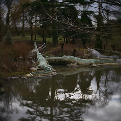 Victorian Dinos (Antony J  Shepherd) Tags: crystalpalace lumixg7 cmount cctvlens 25mm f14
