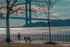 Harbor Walker (J MERMEL) Tags: bridges genres people portraits riverviews seascape views brrokly staten island belt parkway promenade