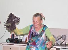IMG 8590 (Eminpee Fotography) Tags: felting friends people craft fibreart wool