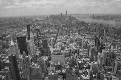 Skilines New York City (CURZU@) Tags: skilines nycusa newyorkcity newyork nuevayork edificios rascacielos nubes ciudad la gran manzana manhattan empirestatebuildingempirestate canoneoscanon80d eos80d80d