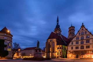 Schillerplatz @ Night