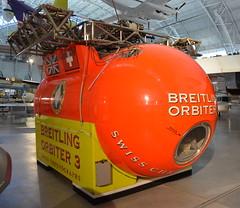 Breitling Orbiter 3 (afagen) Tags: chantilly virginia smithsonian museum nationalairandspacemuseum udvarhazycenter stevenfudvarhazycenter smithsonianinstitution breitlingorbiter3 gondola