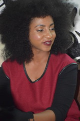 DSC_9760 Zim Connect '18 Press Party Afro Kings with Ammara Brown from Zimbabwe in Shoreditch London. Ammara is an intelligent eloquent speaker. (photographer695) Tags: zim connect 18 press party afro kings with ammara brown from zimbabwe shoreditch london is an intelligent eloquent speaker