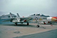 NMC F-14A Tomcat BuNo 157988 (skyhawkpc) Tags: aviation rdte ptmugu f14a tomcat 157988 naspointmugu 1974 grumman usn usnavy naval aircraft navalmissilecenter nmc209