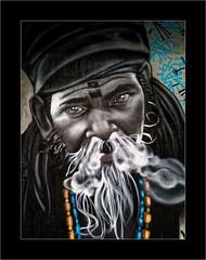Le Mage (Jean-Louis DUMAS) Tags: streetart art rue tag darwin street artist artistic artistique peinture murale artiste bordeaux vie aventure dessin arts portrait artdelarue