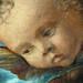 BELLINI Giovanni,1487 - La Vierge et l'Enfant entre Saint Pierre et Saint Sébastien (Louvre) - Detail 50