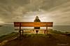 the best bank of the world (Themorrisondoor) Tags: thebestbankoftheworld world cloud nubes banco mar sea