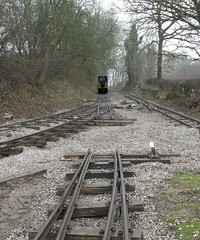 Mind The Gap (Tanllan) Tags: railway railroad gap track diesel loco locomotive ballast baguley stonehenge works mile tree road mleighton buzzard lbr lbngr