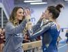 DSC_2978 (K.M. Klemencic) Tags: hudson high school gymnastics lady explorers stow bulldogs ohio ohsaa