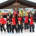 Sun Peaks Teck Open Event, January 4 to 7, 2018  - U16 Girls' Slalom
