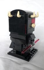 Darth Maul (instructions available) (tomvanhaelen) Tags: lego star wars darth maul custom brickheadz moc
