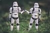 Fist Bump its Friday (jezbags) Tags: fist bump friday starwars stormtrooper stormtroopers trooper troopers chill grass canon canon80d 80d 100mm closeup upclose macro macrophotography macrodreams