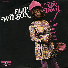 The Devil Made Me Buy This Dress (Jim Ed Blanchard) Tags: lp album record vintage cover sleeve jacket vinyl weird funny flip wilson devil made me buy this dress
