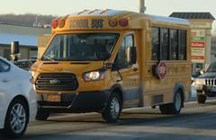 West Point Tours #713 (ThoseGuys119) Tags: westpointtoursinc schoolbus vailsgateny transtech fordtransit new 2018