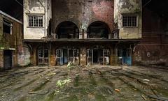 Abandoned MOD Building Glasgow