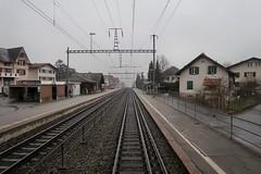 RhB/SBB - Domat/Ems (Kecko) Tags: 2018 kecko switzerland swiss schweiz graubünden graubuenden gr domat ems bahnhof station rhätischebahn rhaetian railway railroad bahn viafierretica rhb sbb eisenbahn track gleis rails schienen swissphoto geotagged geo:lat=46832520 geo:lon=9452100