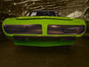 The Green Flash (oybay©) Tags: mandala dodgecharger charger dodge kaleidoscope brightcolors catchycolors vibrant psychedelic trippy outrageous dynamic striking bright vivid stunning beautiful amazingcircles circles colorful colors classiccar classic car automobile redcar red grille mopar barrettjackson scottsdale arizona shine shining lines vehicle outdoor superbird road runner plymouth 1970