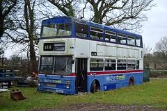 F88XOF 23/01/2018 (MCW1987) Tags: travel west midlands mcw metrobus mk2 mk2a 3088 f88xof