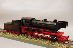 BR 23 locomotive (kr1minal) Tags: lego train br23 br 23 moc steam locomotive benbenekes german