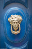 Malta Impressionen - Türklopfer (J.Weyerhäuser) Tags: malta mdina tür klopfer dorr mittelmeer insel blau metall jugendstil