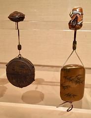 1-6 Bamboo Art at The Met (MsSusanB) Tags: inro netsuke bamboo metropolitan museumofart metmuseum japan sculpture