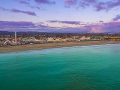 Santa Cruz Beachfront (Justin Garofano) Tags: dgi phantom drone santacruz california pacific ocean boardwalk