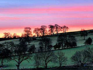 Sunrise View from Gratton Grange Farm, Derbyshire