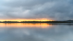 Overcast Morning by the Bay - Waterscape (Merrillie) Tags: daybreak woywoy sunrise nature bay overcast foreshore newsouthwales clouds earlymorning nsw brisbanewater australia landscape morning coastal water outdoors waterscape cloudy centralcoast sky dawn