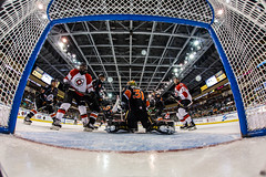 """Kansas City Mavericks vs. Cincinnati Cyclones, February 3, 2018, Silverstein Eye Centers Arena, Independence, Missouri.  Photo: © John Howe / Howe Creative Photography, all rights reserved 2018. • <a style=""""font-size:0.8em;"""" href=""""http://www.flickr.com/photos/134016632@N02/39220093655/"""" target=""""_blank"""">View on Flickr</a>"""