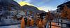 'Golden Hours', Zermatt Switzerland- (Infrared Photography- False Colors + Panorama) (jc reyes) Tags: travels infrared infraredmaster digitalinfrared infraredimages infraredphotos colorinfrared infraredphotography infraredworld falsecolors nikon nikkor invisiblelight skies clouds awesomeshots photography creativeir creativeiramericas creativeireurope architecture zermatt switzerland swiss sunrise winter snow winterwonderland swissalps alps