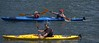 Family Outing (Scott 97006) Tags: people family woman man kid kayak paddle river water sunshine exercise