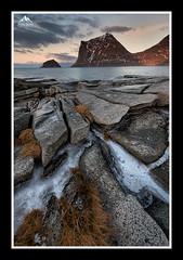 Haukland (rosscosqf) Tags: haukland lofoten norway arctic mountains sea nikon d850 seascape rocks ice lee filters sw150