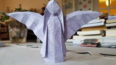 Engel von Nick Robinson (musitine) Tags: origami weihnachten xmas nickrobinson angel engel