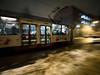 Szybko! (Kwarek) Tags: pośpiech tramwaj noc miasto zima zimno ciemno rush tram night city winter cold dark